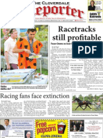 Sept. 3 edition of the Cloverdale Reporter