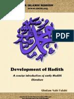 Ghulam Nabi Falahi Development of Hadith