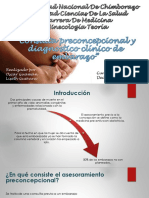 Consulta Preconcepcional y Diagnostico de Embarazo