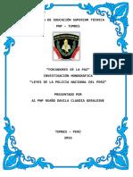 leyes de la PNP