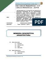 Memoria Arquitectura JCM MODIFICADO