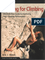 Eric J. Horst Training for Climbing the Definitive Guide to Improving Your Climbing Performance 2002