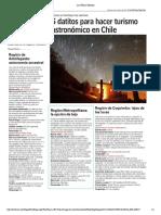 Astroturismo en Chile 2017
