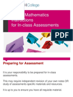 MUFY Maths Instructions for Assessment Tasks