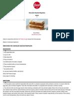 Chocolate Hazelnut Napoleon Recipes _ Food Network Canada