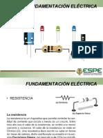 Fundamentación eléctronica