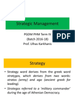 1. Business Strategy