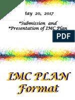 Imc Plan for Green Mktg-schoolbook