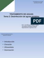 T3. Desinfección de Aguas