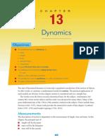 Chapter 13 - Dynamics