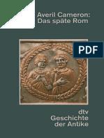 Averil Cameron - Das späte Rom 284 430 n Chr