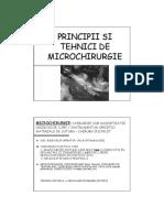 Principii Si Tehnici de Replantare La Nivelul Membrului