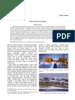 Polar research in India