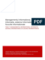 Managementul informational, informatia, sistemul informational si fluxurile informationale trusca, avram, ivan, boteanu.docx