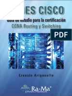Redes Cisco CCNA Routing y Switching - Ernesto Ariganello Ariganello