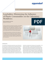 White Paper 026 - Leachables_ Minimizing the Influence of Plastic Consumables on the Laboratory Workflows