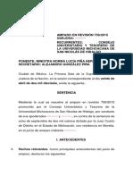 Caso Universidad Michoacana (Derechos Sociales)