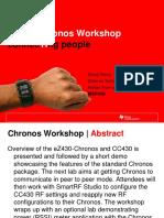 ConnecTIng People EZ430 Chronos Workshop