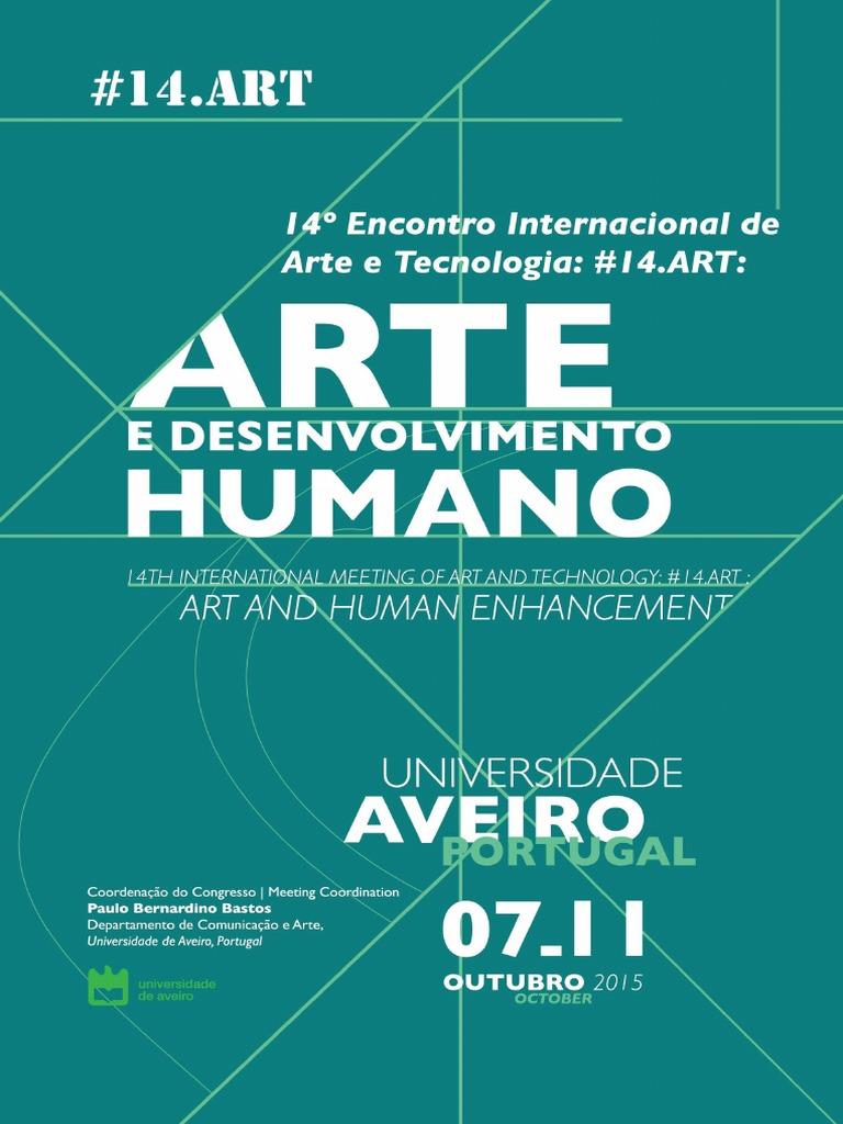 e744dbe7a7a2a Arte e Desenvolvimento Humano Arte e Tecnologia