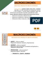 1-1 Macroeconomia---metodos Del Producto Bruto Interno