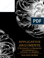 Applicative Arguments a Syntactic(B-ok.org)