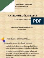 Antropološki Status