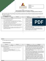 candidate evidance portfolio