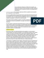 Definición de Región y Regiones Naturales de Venezuela