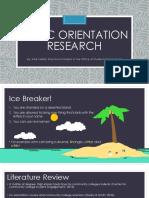 nscc orientation research