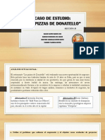 Caso Pizzas Donatello