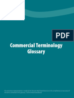commercial terminology booklet