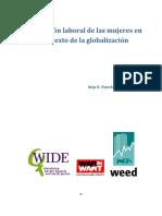 FRANCK y SPEHAR. La Migración Laboral de Las Mujeres en El Contexto de La Globalizacion.2010