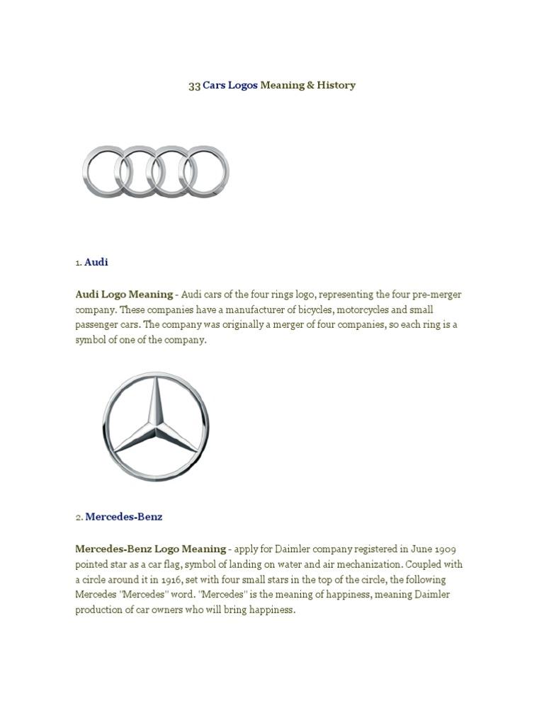 33 Cars Logos Meaning History Carlogos Opel Volkswagen