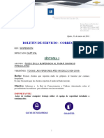 C - BT-002-2011 - Ruidos Suspensin - Captiva - CORRECTIVO