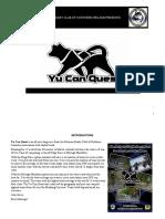 Yu Can Quest Race Brochure