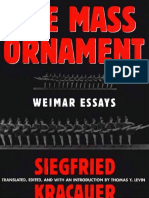 Siegfried Kracauer - The Mass Ornament - Weimar Essays