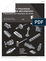 Practicas y Procesos de Taller de Mecanizado -Fabricación Por Arranque de Viruta