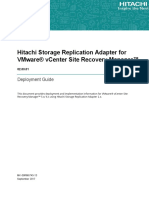 Hitachi Storage Replication Adapter for VMware VCenter Site Recovery Manager Deployment Guide_v02.03.01