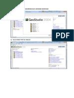 Analisis Del Factor de Seguridad en El Sofware Geostudio
