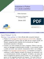 Introduzione Python