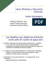 16. Seminario Mineria y Recurso Hidricos Vision Estrategica