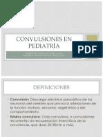 Convulsiones en Pediatria