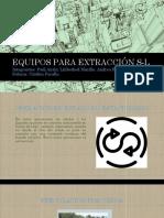 Equipos Para Extracción S-l