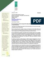 2018-01-07 OCLA Letter to Minister Hussen