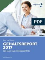 StSt Gehaltsreport 2017 Fach Fuehrungskraefte