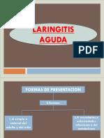 Laringitis Agudas y Cronicas