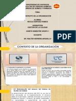4 Contexto de La Organizacion