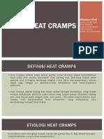 Ppt Heat Cramps