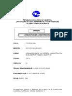 Organización de la Carrera Administración en el Sector Públi.doc