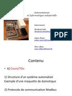 Automatismes Transparents Cours L3 SPI